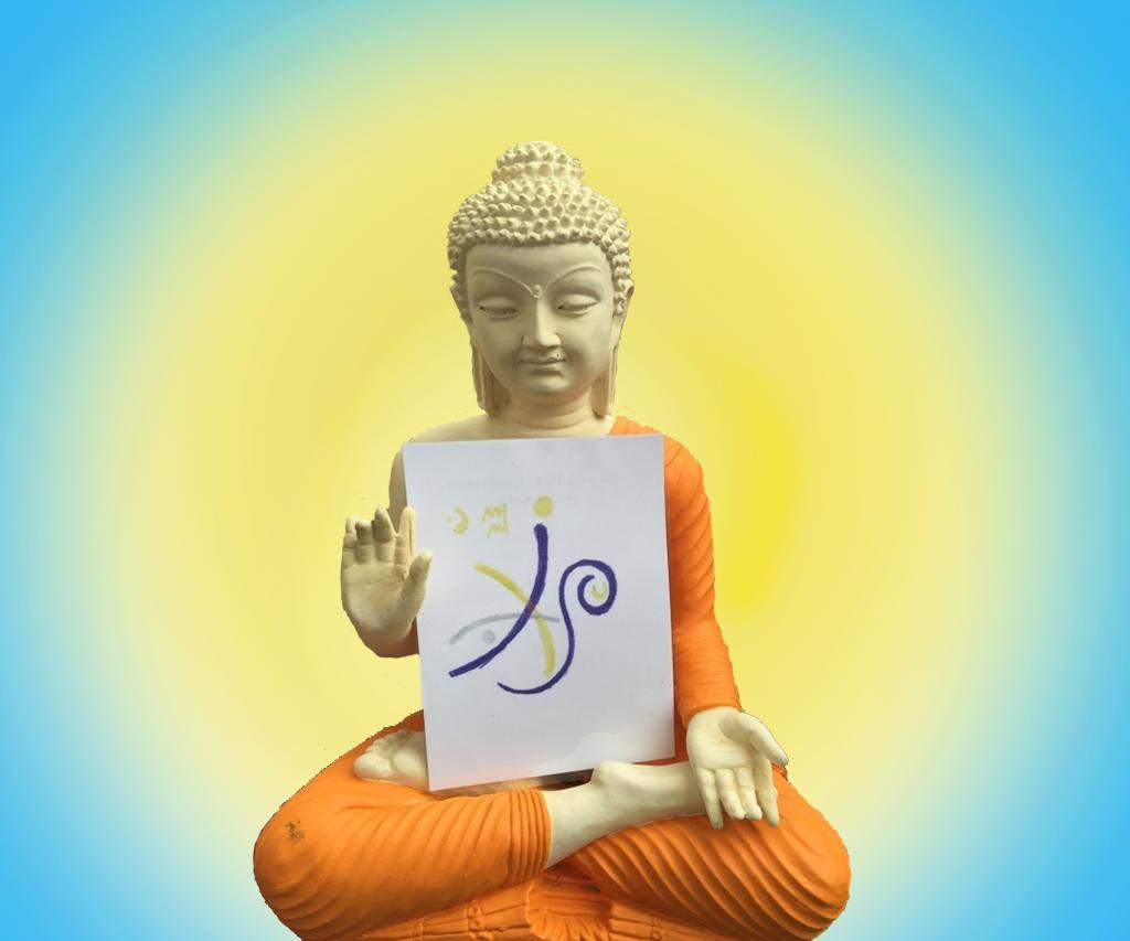 Deckblatt Buddah TransformationsKarte
